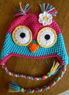 I love making Owl hats!