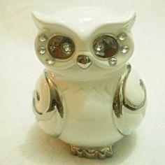 Xique Bazar Presentes - Coruja Porcelana