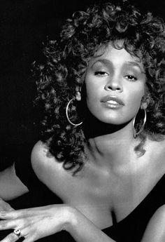 whitney black white. Whitney HoustonGone But Never Forgotten! Black White R