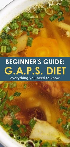 What is the GAPS Diet? Find out just what is the GAPS diet in this beginner's guide to the GAPS diet! Featuring an allowed GAPS diet foods list and GAPS diet FAQ to help you get started! Healthy Food List, Diet Food List, Healthy Recipes, Diet Foods, Healthy Kids, 30 Diet, Diet Menu, Healthy Nutrition, Healthy Eating