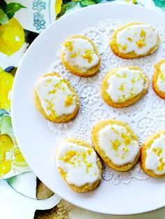 Booze up Easter > limoncello cookies