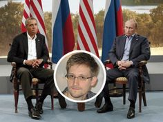 Obama parle con Putin de le situacion de Edward Snowden