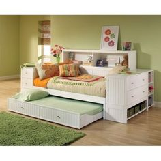 Cody Bookcase Storage Daybed