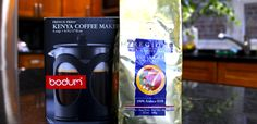 Chef Billy Parisi's Coffee of the Month and Giveaway: 7 Regions Tarrazu and Bodum French Press