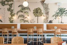 The best cafe, restaurant and bar interiors of 2015 - Vogue Living - The Butler, Sydney. Cool Cafe, Commercial Design, Commercial Interiors, Interior Exterior, Interior Design, Modern Interior, Bar Design, Design Ideas, Design Trends