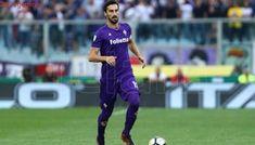 El capitán de la Fiorentina Davide Astori, murió en la concentración