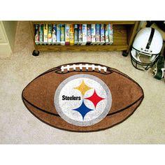 NFL - Pittsburgh Steelers Football Rug