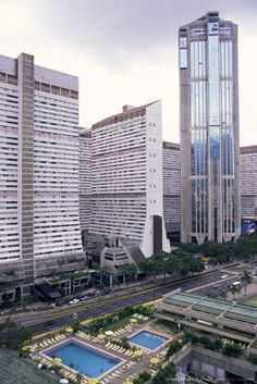 Parque Central, Caracas - Siso Shaw Architects - Early 1970's