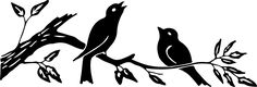 Silhouette-Image-Birds-on-Branch-GraphicsFairy1.jpg (1500×512)