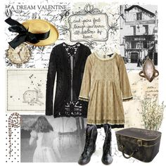 """Stay for me there: I will not fail to meet thee in that hollow vale."" by corvx on Polyvore"
