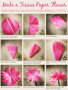 Made these with the Daughter, then made this tutorial to share. I will be helping kids create bouquets for Mother's Day as part of my book signing for Mommy is a Worrywart. So fun! (Tissue Paper Flowers, feel free to re-pin and enjoy!)