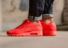 Idée et inspiration Sneakers -Nike Air Max 90    Image   Description   Nike Air Max 90 Ultra Moire: Red