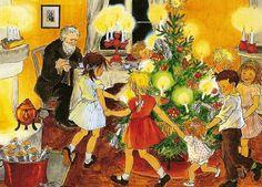 Barnen i bullerbyn jul
