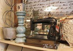 Vintage sewing machine! ~Bella B Decor