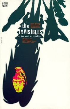 The Invisibles Vol. 1: Say You Want a Revolution by Grant Morrison, http://www.amazon.com/dp/1563892677/ref=cm_sw_r_pi_dp_5fKJpb1Y81P3D