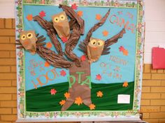 fall bulletin boards for school | actually put this up at the beginning of the month but just haven't ...