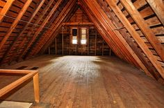 """Perfect space for an attic playroom or """"man cave""""!"""