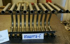 R20GR14TD-F Grate Heater Fireplace Fireback Furnace Heat Exchanger Heatilator