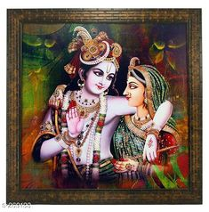 Paintings & Posters Stylish Wood & Plastic Wall Painting Material: Wood & Plastic Size: (L x W) - 13.8 in x 13.8 in Description: It Has a Single Piece Of Frames With Painting (Glass Is Not Included) Work: Printed Country of Origin: India Sizes Available: Free Size   Catalog Rating: ★4.1 (442)  Catalog Name: Spirtual Wall Paintings Vol 1 CatalogID_28048 C127-SC1611 Code: 512-269133-693