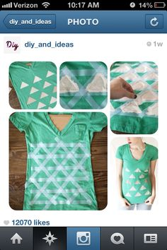 DIY shirt.... Only I think the holes will not be in those places.