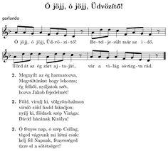 """Képtalálat a következőre: """"karácsonyi dalok kottával"""" Advent, Sheet Music, Music Score, Music Notes, Music Sheets"""