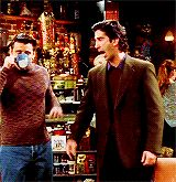 """""""Hey Tribbiani, give me that coffee. Friends Gif, Friends Show, Old Friends, Ross Geller, Himym, Funny, Coffee, Tv, Random"""