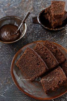 Nutella cake - recipe - No Bake Desserts Chocolate Easy Smoothie Recipes, Good Healthy Recipes, Cupcake Recipes, Dessert Recipes, Nutella Cake, Coconut Recipes, Food Cakes, Summer Desserts, Ice Cream Recipes