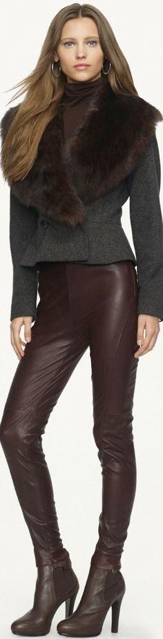 Ralph Lauren Black Label              Street 'CHIC #Fashion ✿ιиѕριяαтισи❀       #abbigliamento #Street'CHIC