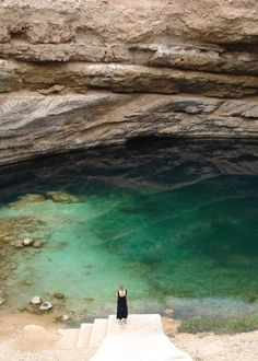 The Sinkhole in Oman.