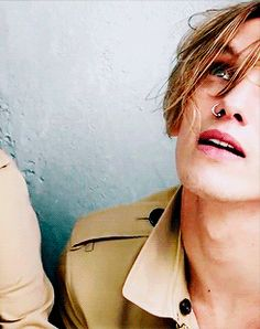 Jamie Campbell Bower for Burberry