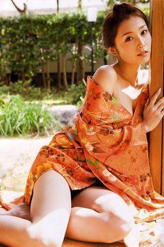 Yoko Mitsuya is a Japanese beauty.