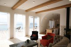 Home design [Living room] |TEPEE HEART #beach house #Van Thiel #ドーム天井 #湘南 #注文住宅