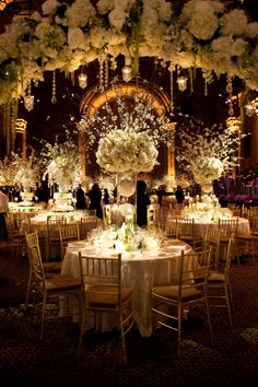 Stunning Winter White Wedding at Cipriani 42nd Street | TantawanBLOG