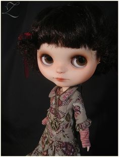 "OOAK Custom Blythe Doll ""Little Bohemians"" India by Zolala 