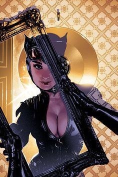 Catwoman by Adam Hughes