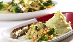 Broccoli-Möhren-Gratin