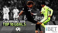 2015 Champions League Top 10 Goals! by Casino588 http://casino588.com/