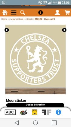 Muursticker Chelsea