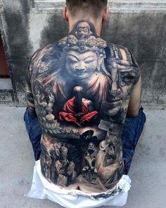 tattoo m nner r cken tattoos body paintings. Black Bedroom Furniture Sets. Home Design Ideas