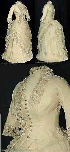 Vestidos 1880.