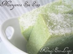 Picture of Margarita Spa Soap - Lime and Sea Salt