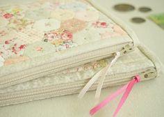Flower Garden Wallet pattern - Pretty by Hand