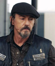 Chibs - I hear his sexy accent every time I see his picture <3