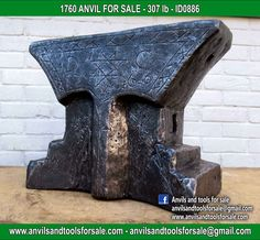 Ask for price with ID0886 on anvilsandtoolsforsale@gmail.com All pictures of all anvils on our website anvil for sale, anvils, blacksmith, blacksmiths, blacksmithing, antique tools, tool collector, swage block, stake, cone, cutler, french pig, amboss, incudine, schmied, forgeron, forge, enclume, forged, blacksmith tools, old tools, vintage tools, handtools, iron work, vise, stake, coutellier, chamouton, hulot harmel, collection, outil ancien, outils anciens, bigorne, art populaire, enclume