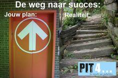 Weg naar succes