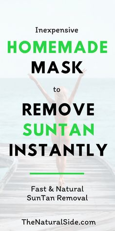 Natural Remedies For Skin Suntan can be stubborn! Click through to make a Magical Mask to Remove Sun Tan Instantly from Face Tan Removal Home Remedies, Sun Tan Removal, Home Remedies For Acne, Natural Remedies, Herbal Remedies, Diy Natural Beauty Recipes, Beauty Tips For Skin, Skin Care Tips, Beauty Hacks