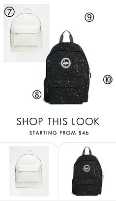 """""""backbags3"""" by kuruczalexandra on Polyvore featuring Mi-Pac and Hype"""