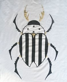 Beetle with a Golden crown - blanket