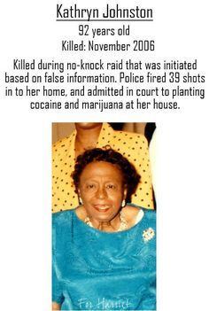 sonofbaldwin: Cops murdered a unarmed black woman in her home and most of us never even heard about it. If you marching for Freddie Gray, you got damn well better be marching for Kathryn Johnston. Black History Facts, Black History Month, Strange History, Sierra Leone, All Meme, African American History, British History, In This World, Fun Facts