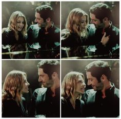 Lucifer 1x02 - Lucifer, Stay. Good Devil. <--- And to think she was only checking for a bullet-proof vest, sorry Luci lol